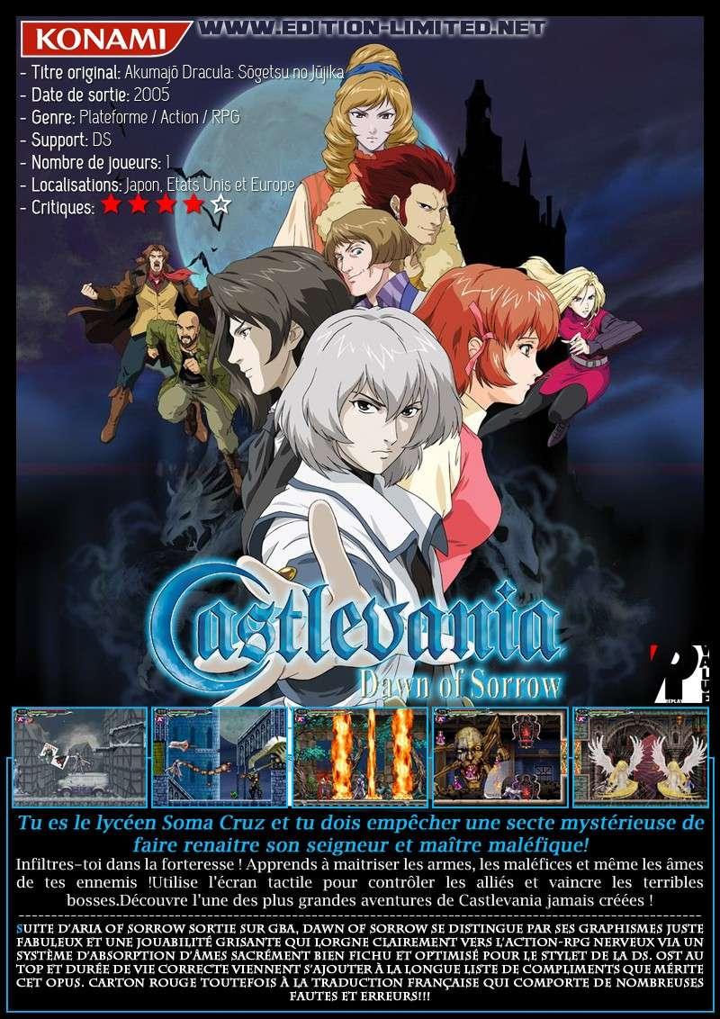 Nintendo DS - Castlevania: Dawn of Sorrow Castle66