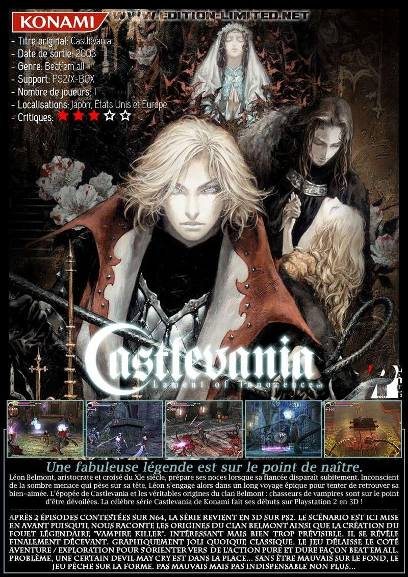 Sony Playstation 2 - Castlevania: Lament of Innocence Castle67