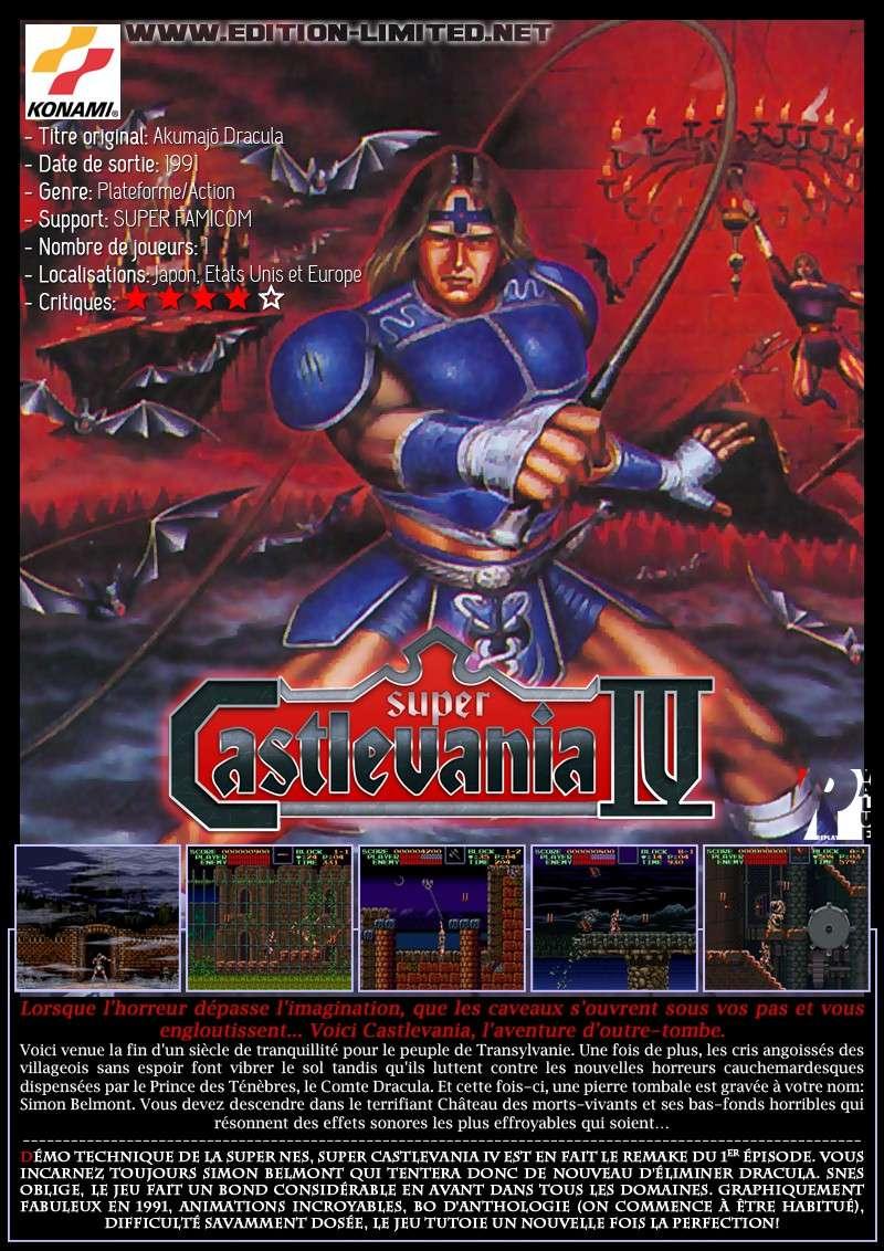 Nintendo Super Famicom - Super Castlevania 4 Castle70