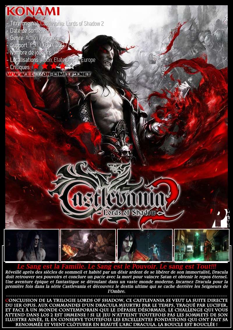 Sony Playstation 3 - Castlevania: Lords of Shadow 2 Castle71