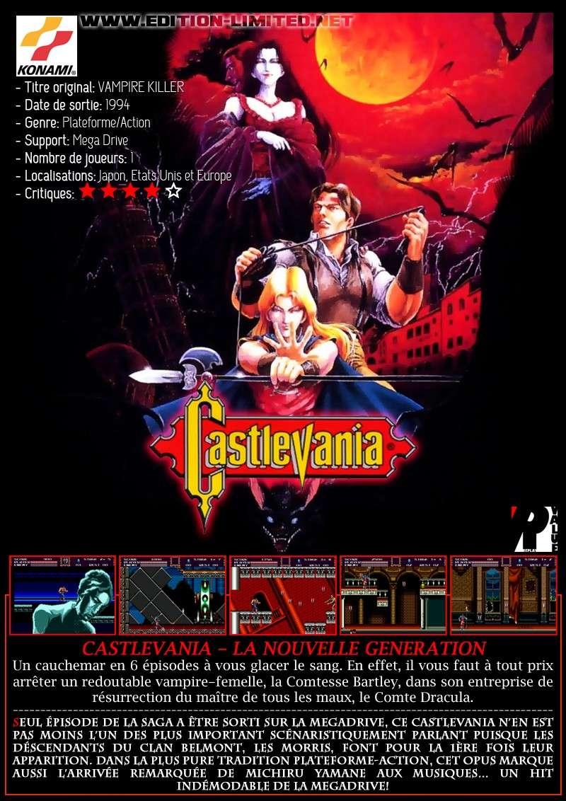 Sega Mega Drive - Castlevania The New Generation Vampir10