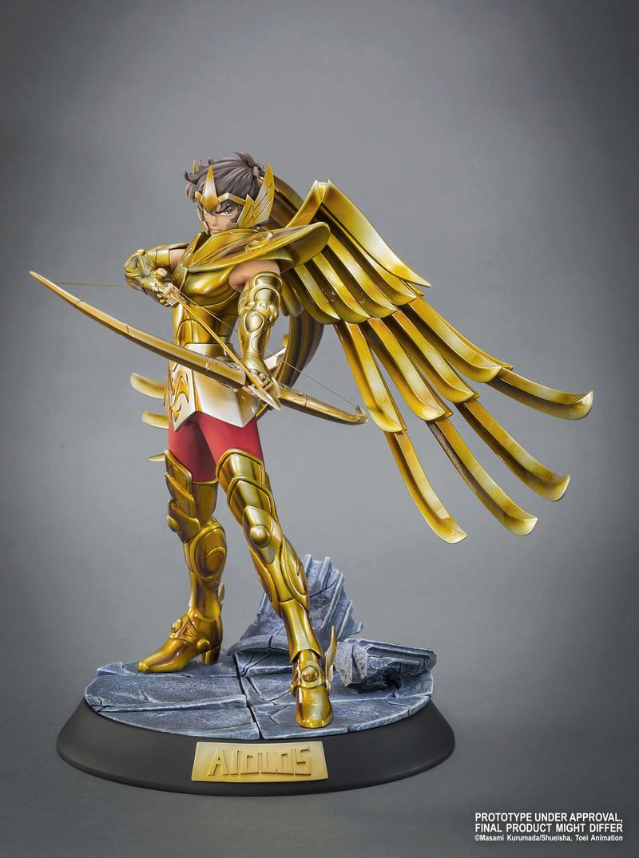 """TSUME : SAINT SEIYA ( chevaliers du zodiaque ) : chevalier d'or du sagittaire aiolos """" HQS"""" Image26"""
