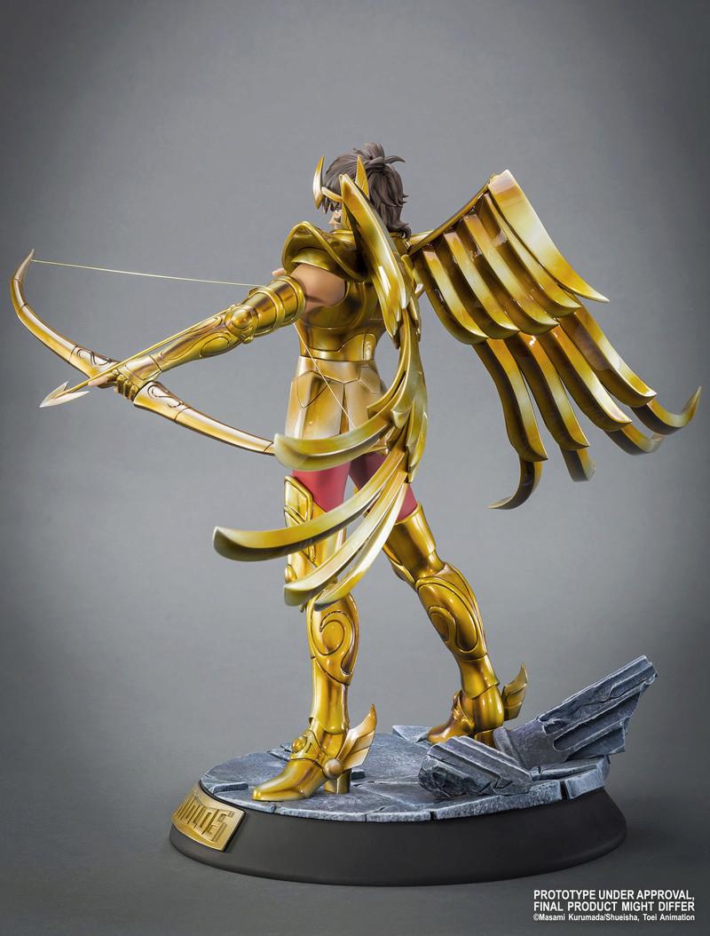 """TSUME : SAINT SEIYA ( chevaliers du zodiaque ) : chevalier d'or du sagittaire aiolos """" HQS"""" Image28"""