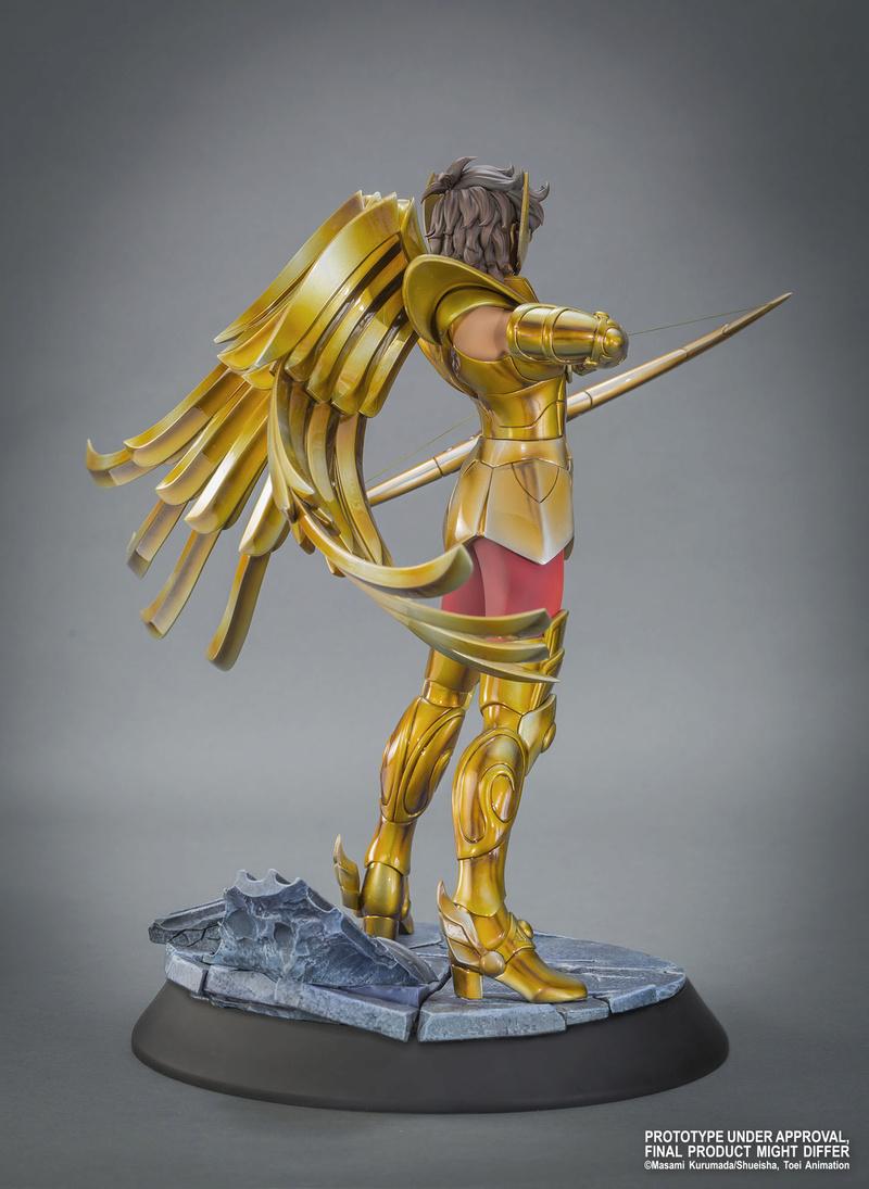 """TSUME : SAINT SEIYA ( chevaliers du zodiaque ) : chevalier d'or du sagittaire aiolos """" HQS"""" Image30"""