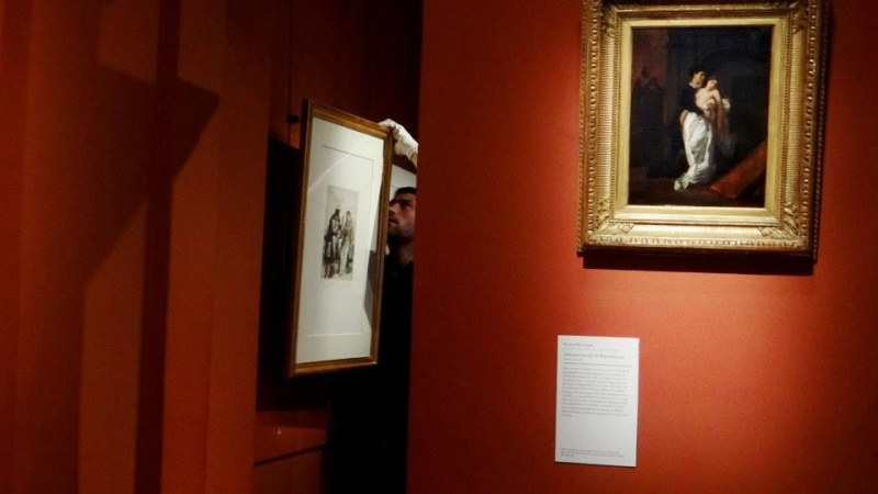 """Eugène Delacroix, """"le plus légitime des fils de Shakespeare"""" au musée Delacroix Delacr10"""