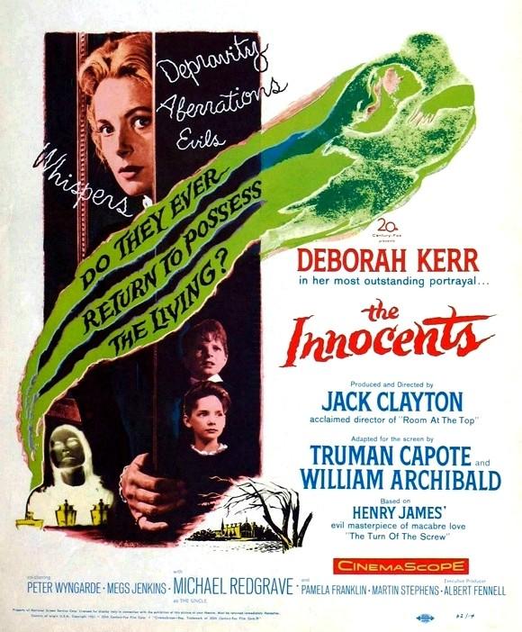 Les innocents de Jack Clayton (1961), adaptation du Tour d'écrou The_in11