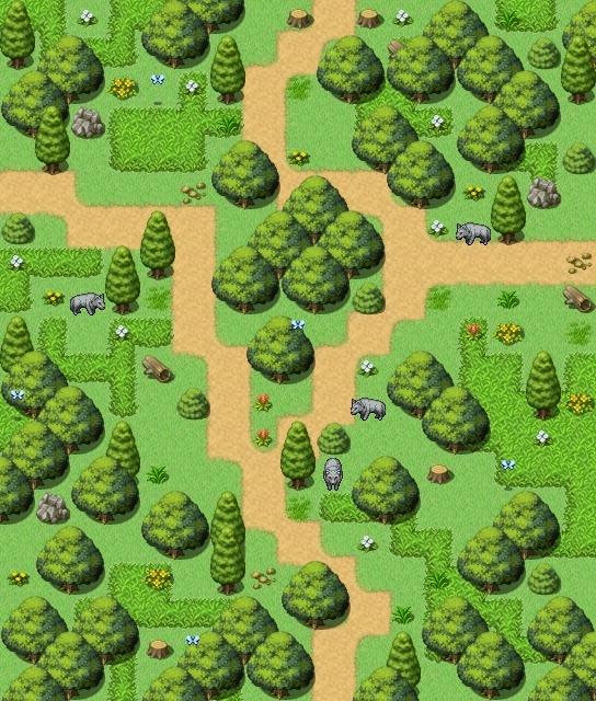 Mes maps pour mon projet Exf210