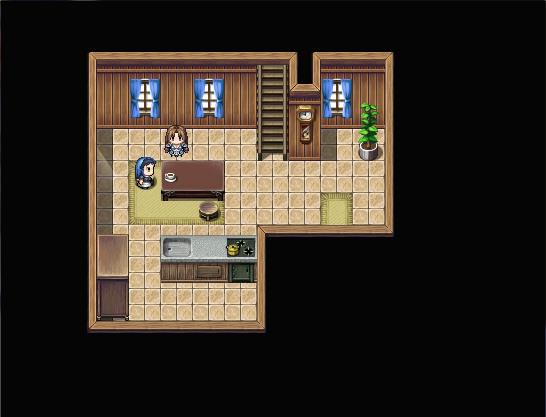 Petite maison simple mais fonctionnelle (intérieur) Rdc12