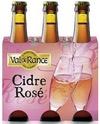 cidre rosé Val-de10