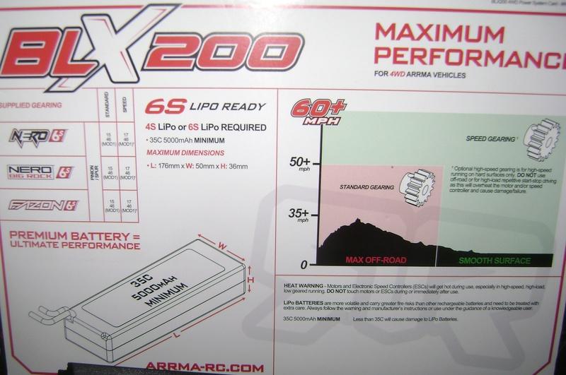 Arrma Monster Truck Nero BLX EDC /  Fazon & Big Rock de Trankilou&Trankilette - Page 6 03_04_23