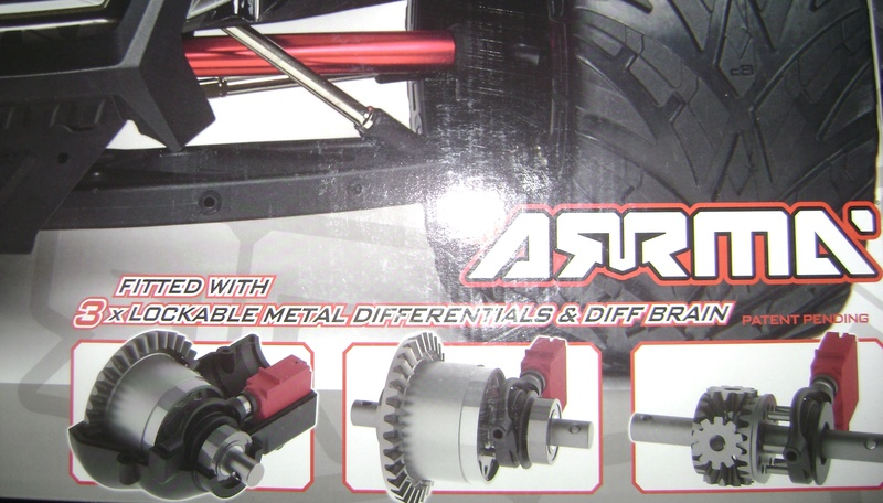 Arrma Monster Truck Nero BLX EDC /  Fazon & Big Rock de Trankilou&Trankilette - Page 6 03_04_24