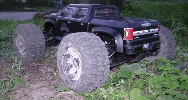 Arrma Monster Truck Nero BLX EDC /  Fazon & Big Rock de Trankilou&Trankilette - Page 6 07_04_16