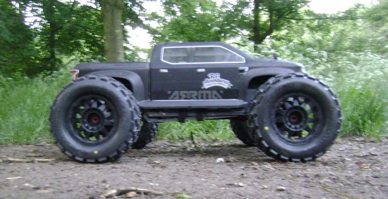 Arrma Monster Truck Nero BLX EDC /  Fazon & Big Rock de Trankilou&Trankilette - Page 6 12_05_18