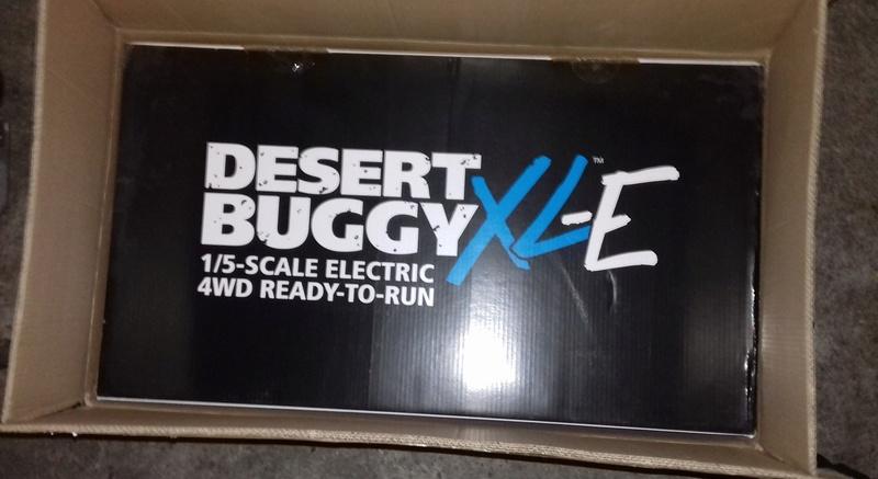 Le LOSI Desert buggy 1/5e XL-E RTR 4WD 8s de Trankilou & Trankilette 20170517