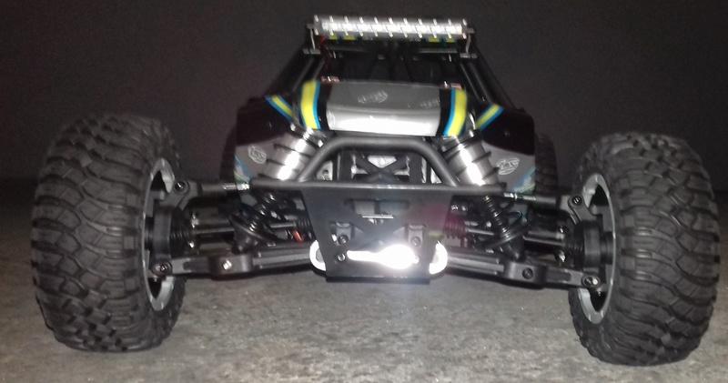 Le LOSI Desert buggy 1/5e XL-E RTR 4WD 8s de Trankilou & Trankilette 20170522