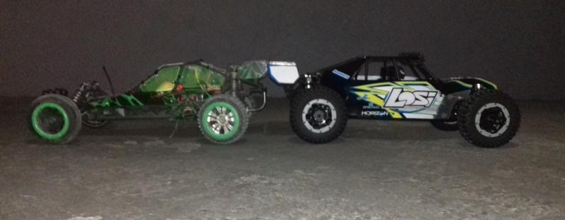 Le LOSI Desert buggy 1/5e XL-E RTR 4WD 8s de Trankilou & Trankilette 20170543