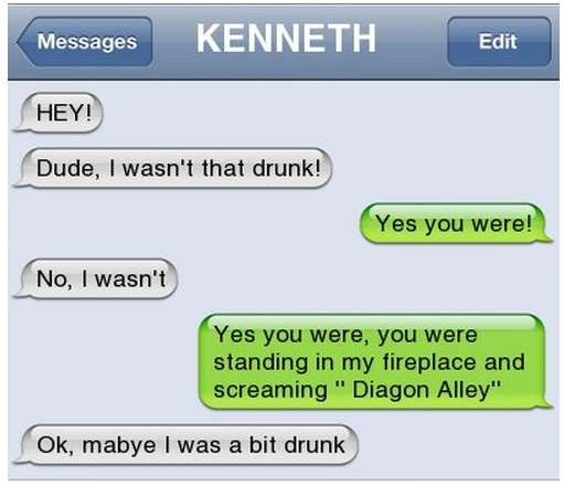 I wasn't that drunk... Drunk310