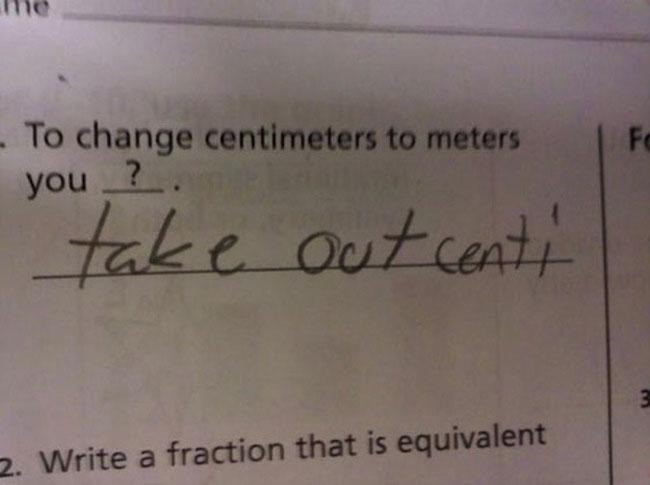 How GJ got through highschool... Test810