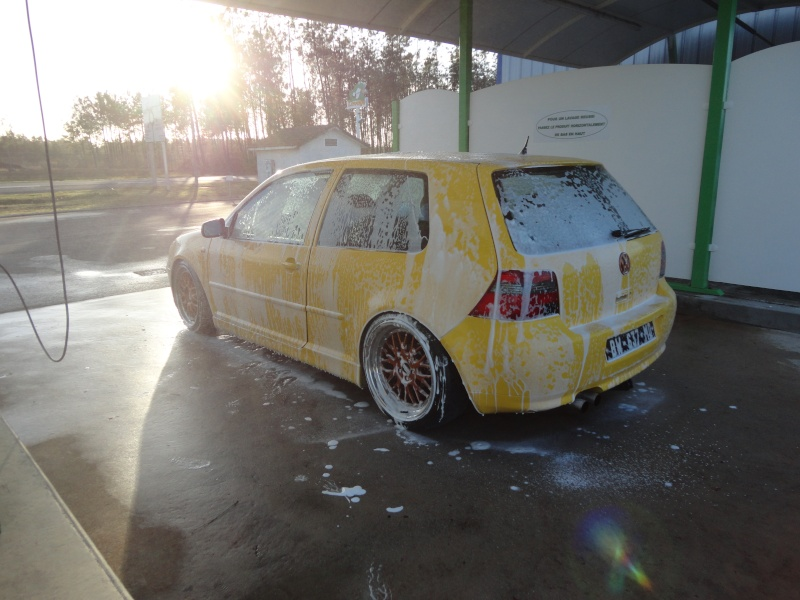 [ GOLF IV ] Yellow Project By Mini ( new wheels + divers ) Dsc01411