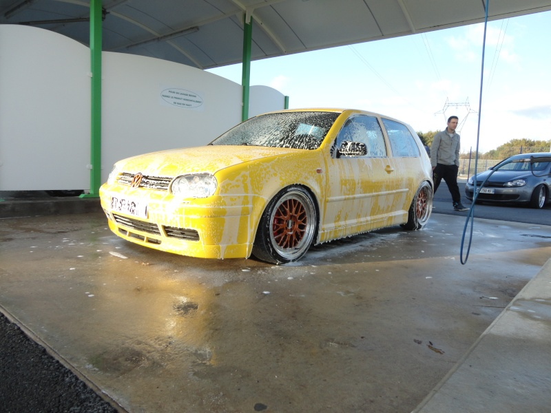 [ GOLF IV ] Yellow Project By Mini ( new wheels + divers ) Dsc01414