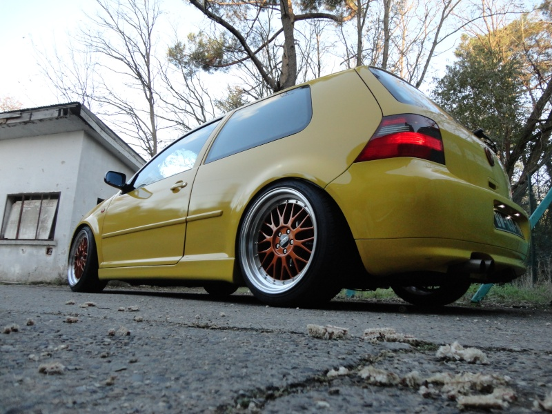 [ GOLF IV ] Yellow Project By Mini ( new wheels + divers ) Dsc01510