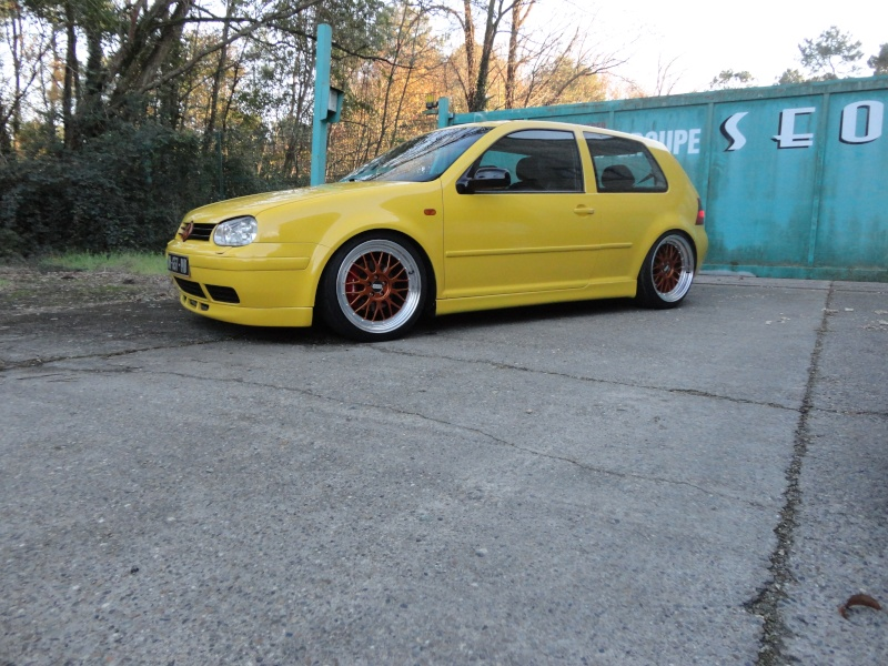 [ GOLF IV ] Yellow Project By Mini ( new wheels + divers ) Dsc01511