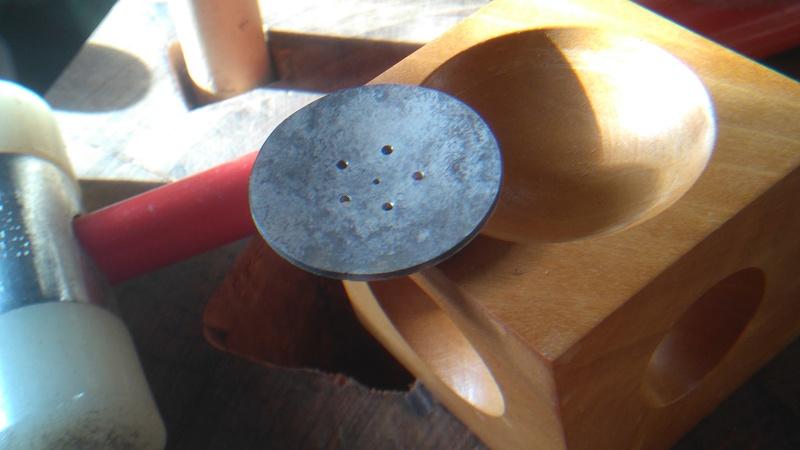 Pendentif fleur grenat cabochon Dsc_0711