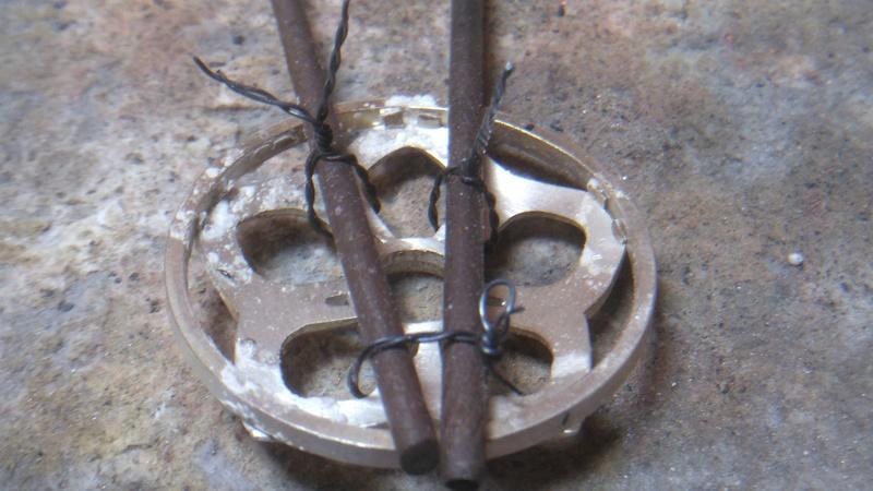 Pendentif fleur grenat cabochon Dsc_0817