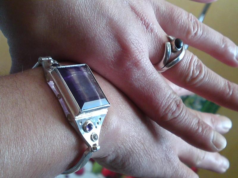 Bracelet Fluorite  P20-0212