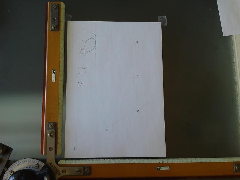 Dessin pour les Nuls N°3  Tracé d'ellipse Isométrique    P23-0110