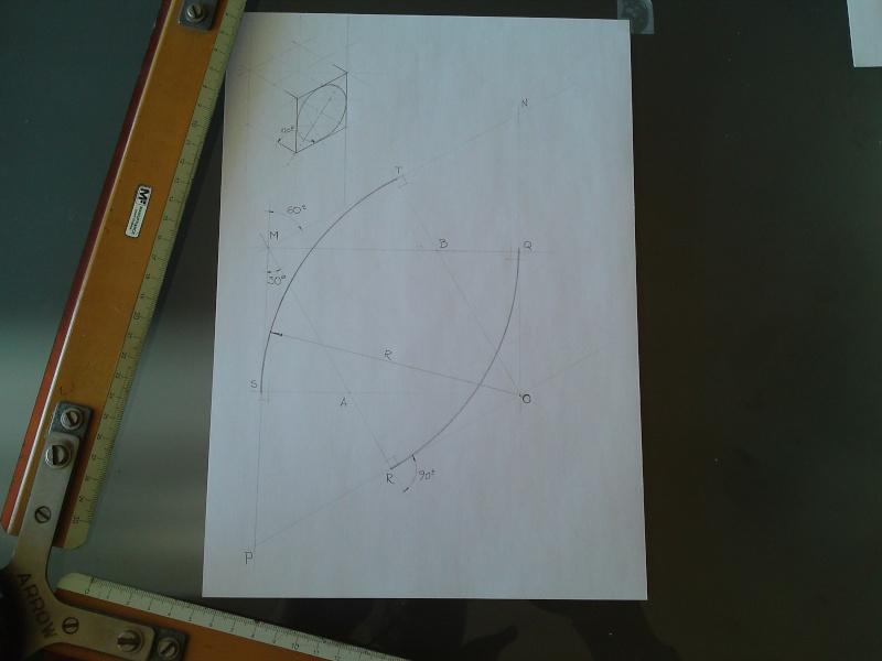 Dessin pour les Nuls N°3  Tracé d'ellipse Isométrique    P23-0112