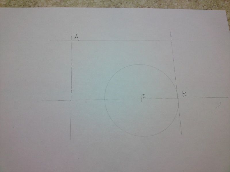 Dessin pour les Nuls N° 4 Tracé d'ellipses ou tracé des arcs tangents à deux cercles P31-0114