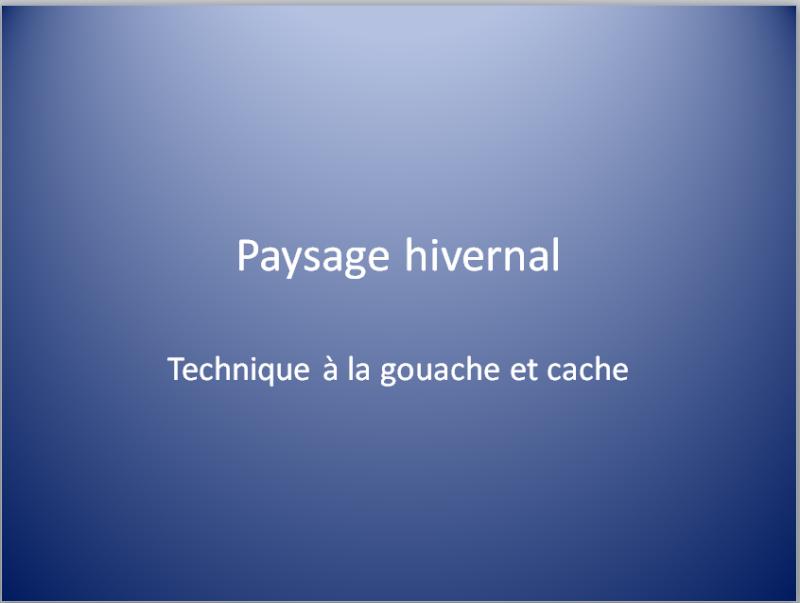 PAYSAGE D'HIVER (GOUACHE)  Captur14