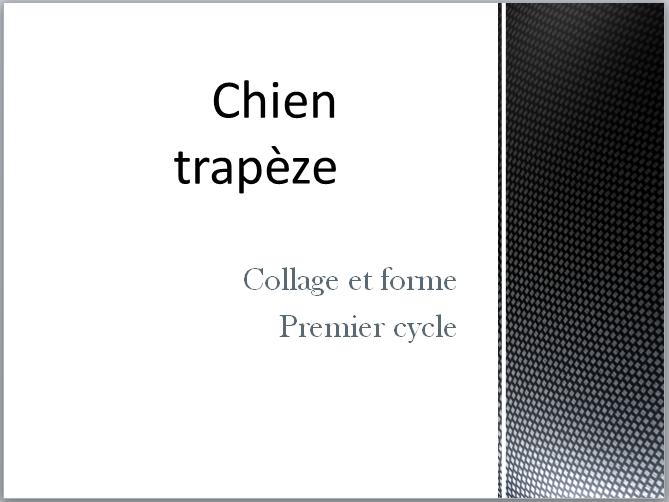 LE CHIEN TRAPÈZE (COLLAGE)  Captur15
