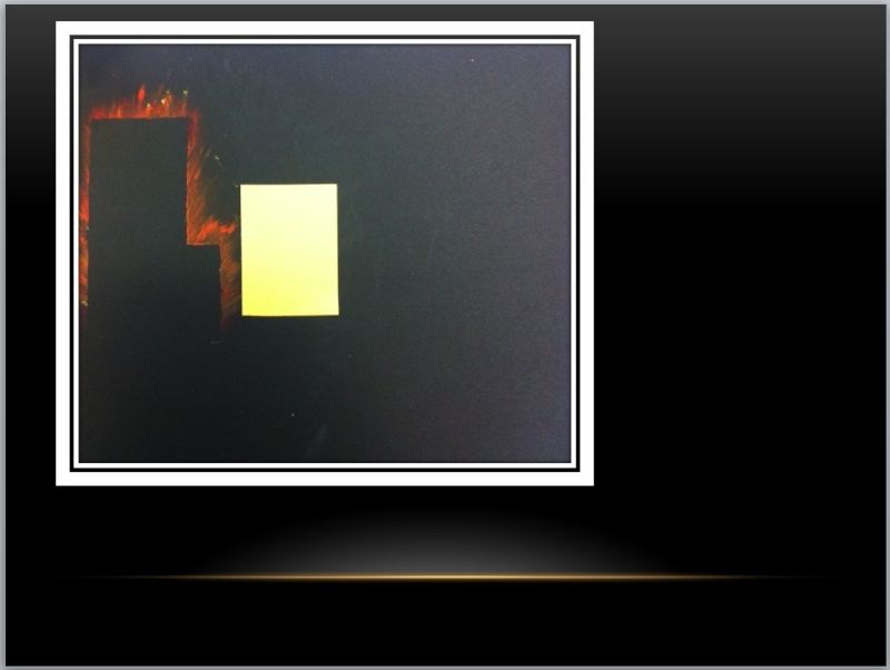 UNE VILLE LA NUIT (PASTEL À l'HUILE )  Captur46
