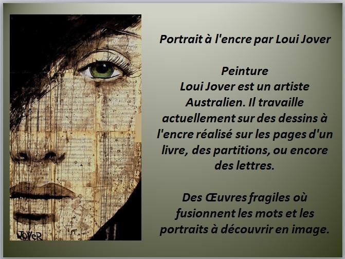 À LA MANIÈRE DE LOUI JOVER (COLLAGE / PEINTURE /ENCRE ) Captur52
