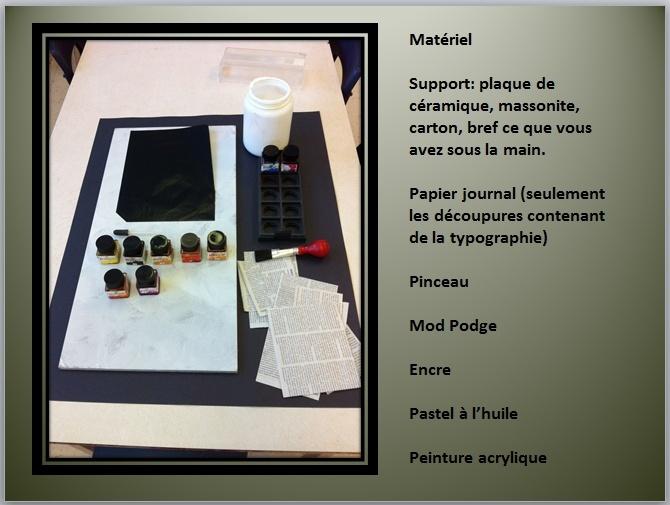À LA MANIÈRE DE LOUI JOVER (COLLAGE / PEINTURE /ENCRE ) Captur53