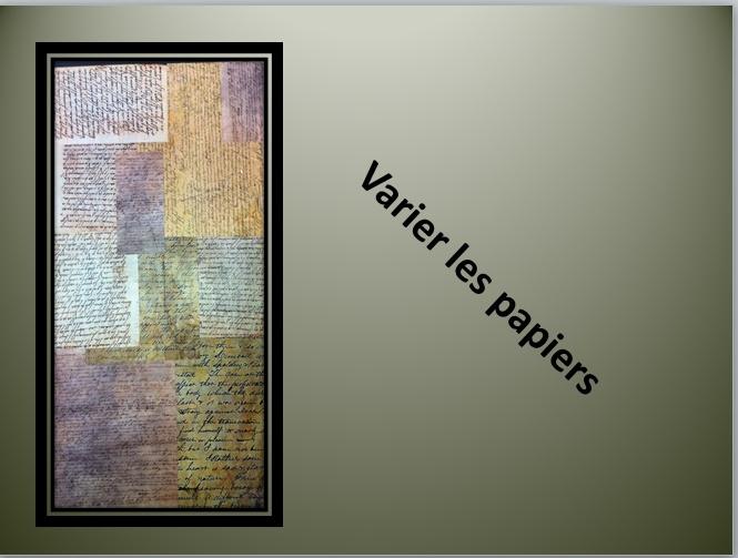 À LA MANIÈRE DE LOUI JOVER (COLLAGE / PEINTURE /ENCRE ) Captur58