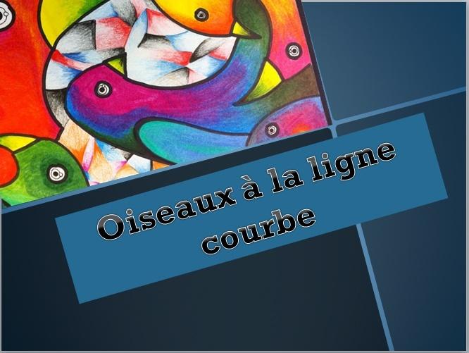 OISEAUX À LA LIGNE COURBE (DESSIN CRAYON DE BOIS) Captur89