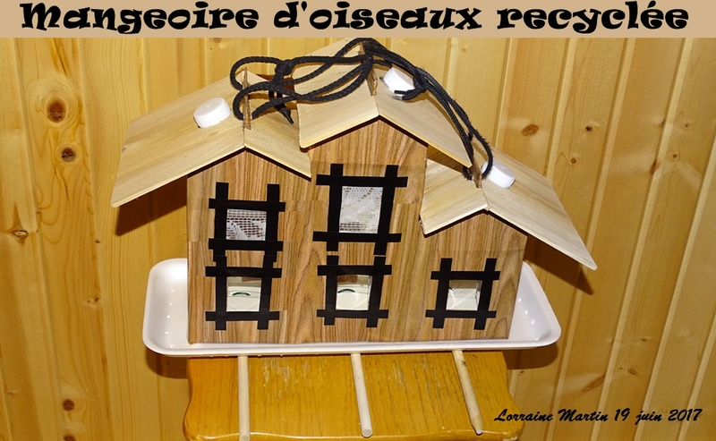 Triplex mangeoire recyclée  Triple11
