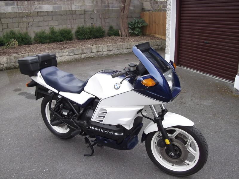 What color should my seat be, 1989 K100RS SE? Dscf0510