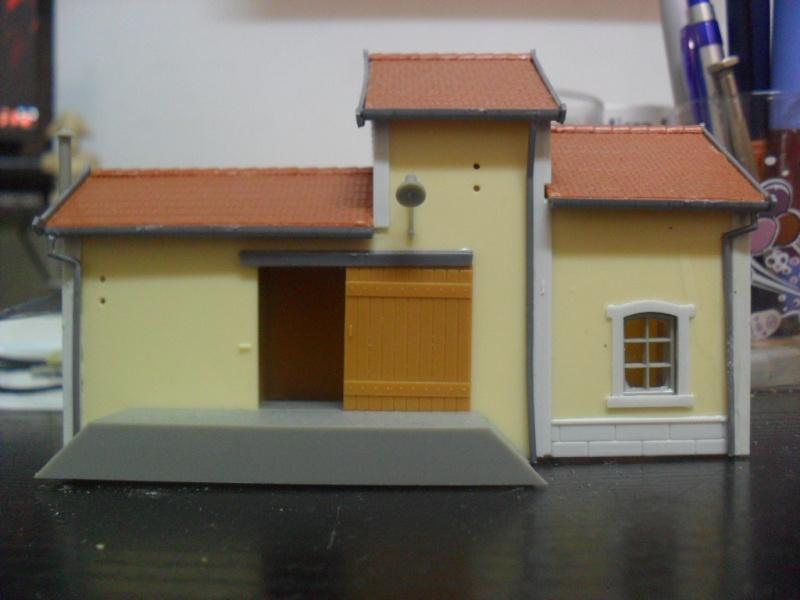 AUBANCE petite gare en HO... Sabler11