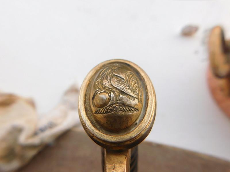 Sabre D'officier Artillerie Montée modèle 1829 Dscn5814