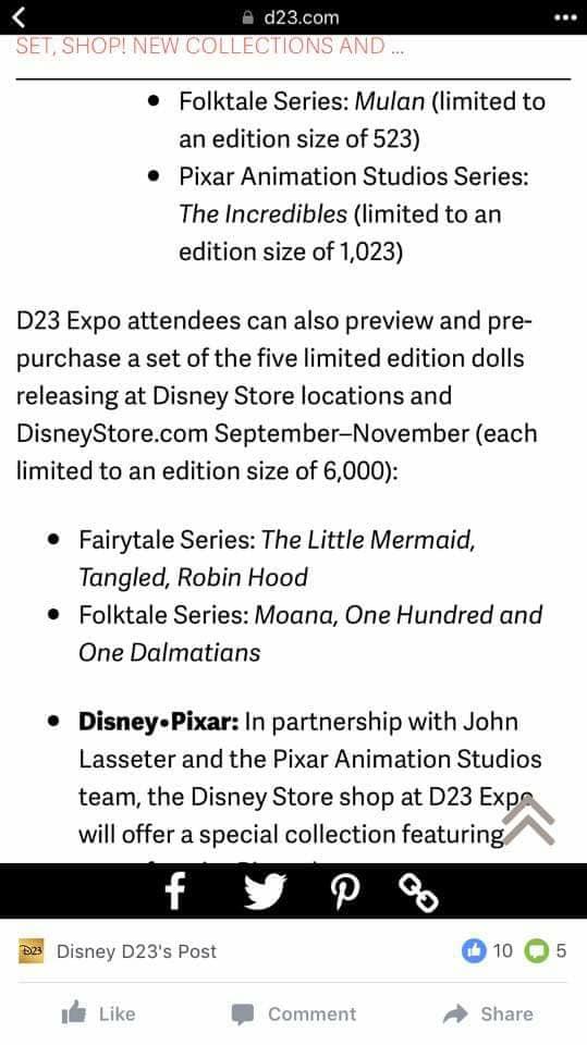 Disney Fairytale Designer Collection (depuis 2013) - Page 38 19424310