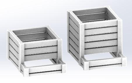 [TJ-Modeles] Accessoires en impression 3D - Echelle H0 Tj-h0111