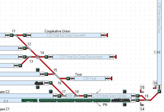 trajets réservés aux machine haut le pied Tco_um11