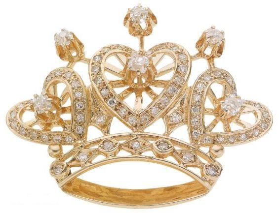 Магическая Золотая Кристаллическая Корона 41416510