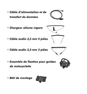 Intercom filaire ou Bluetooth Kit_sm10