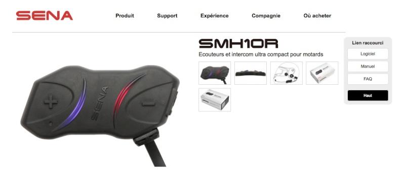 sur vos casques Le Cardo Scala rider  Sena_s11