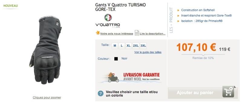 Gants hiver Vquatr10